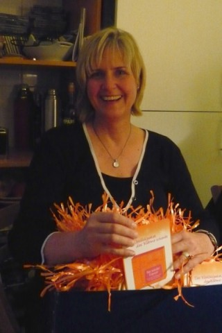 Buchpräsentation Karin Hertzer - Nie wieder frieren