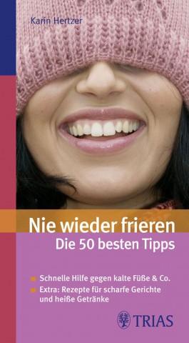 Karin Hertzer Nie wieder frieren 50 Tipps Cover
