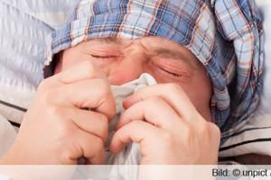 Schnupfen Frieren Schwitzen Erkältung