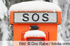 SOS-Säule frieren schwitzen