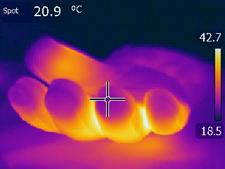 thermic_beheizbare_fingerhandschuhe_waermebild_20.9_frieren_schwitzen_k